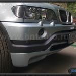 Накладка на передний бампер 4.8 для BMW X5 E53 00.03 гг